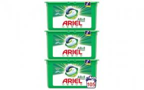 Detergent capsule Ariel All in One PODS Mountain Spring, 3x35 buc, 105 spalari